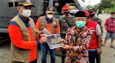BNPB Serahkan Bantuan Rp4 Miliar untuk Korban Gempa Bumi Sulbar