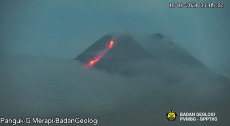 Gunung Merapi Kembali Keluarkan Awan Panas Guguran Sejauh 1.000 Meter