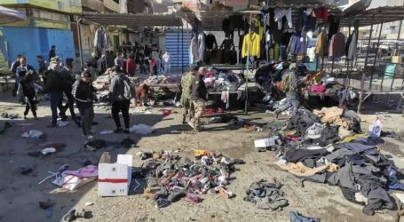 Bom Bunuh Diri Kembar Guncang Baghdad