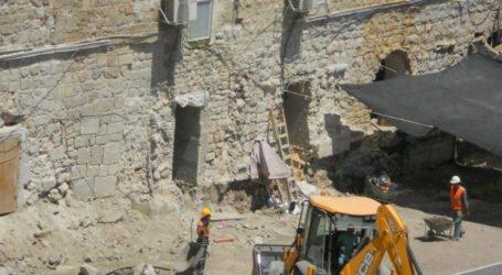 Yordania: Israel Harus Hentikan Penggalian Dekat Al-Aqsa