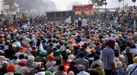 Ribuan Petani India Bergabung Dalam Protes