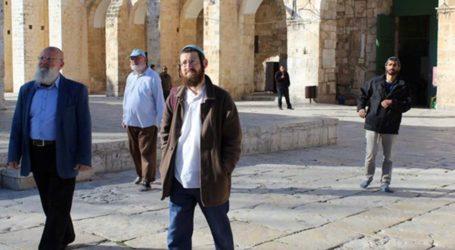 Puluhan Pemukim Yahudi Serbu Masuk Masjid Al-Aqsa