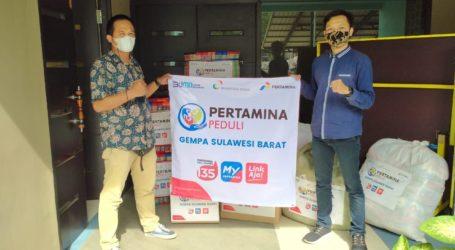 PT Nusantara Regas-Filantra, Salurkan Bantuan untuk Gempa Sulbar