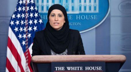 Pejabat AS Kenakan Jilbab saat Konferensi Pers di Gedung Putih