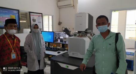 Dosen STISQABM Kunjungi Lembaga Ilmu Pengetahuan Indonesia Lampung