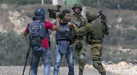Kru TV Palestina Diserang Pemukim Israel