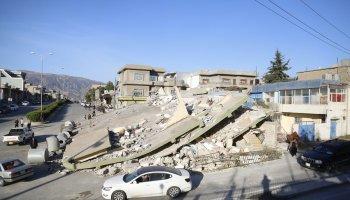 Gempa 5,4 Magnitudo Guncang Iran, 32 Luka, 78 Rusak