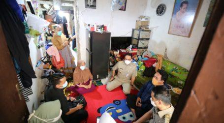 Gubernur Anies Takziah Ke Rumah Korban Banjir