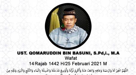 Staf Majelis Qodho Jama'ah Muslimin Qomaruddin Basuni Wafat