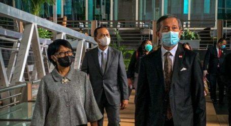 Menlu RI – Menlu Singapura Bahas Langkah ASEAN Terhadap Myanmar