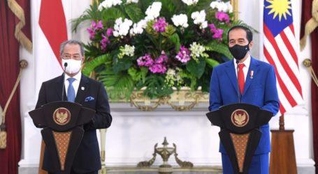 Jokowi-Muhyiddin Bahas Situasi di Myanmar