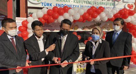 Toko Produk Organik Indonesia di Turki Diresmikan