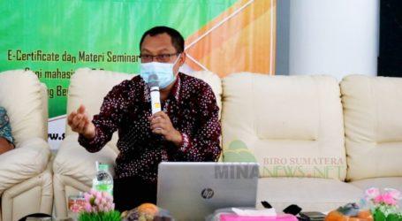 Dr. Sukismanto: Ekonomi Syariah Cara Terbaik Ciptakan Ekonomi Maju dan Kuat