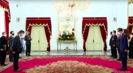 Presiden RI Terima Surat Kepercayaan Tujuh Dubes Negara Sahabat