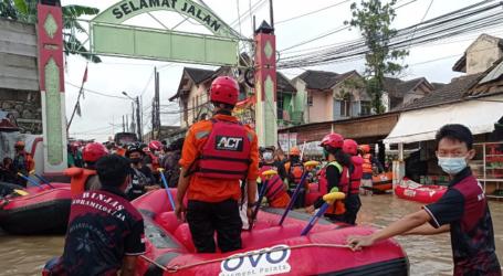 ACT-MRI Bekasi Asesmen dan Evakuasi Warga Sejak Jumat