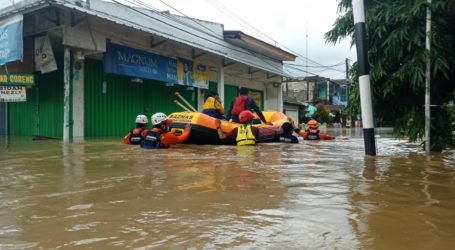 BAZNAS Bantu Korban Banjir di Cipinang Melayu dan Pondok Gede Permai