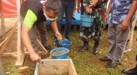 Pembangunan Hunian Nyaman Terpadu Ditargetkan Tiga Pekan ke Depan