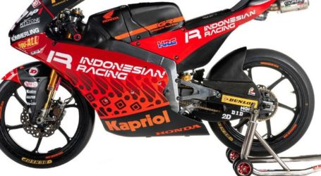 Indonesian Racing Team Gresini Kenalkan Livery Motif Batik