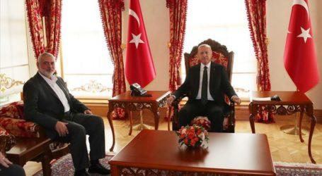 Haniyeh Minta Turki Ikut Sebagai Pemantau Pemilu Palestina