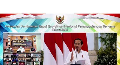 Presiden: Pencegahan dan Mitigasi Kunci Utama Kurangi Resiko Bencana