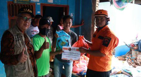 UAR Salurkan Bantuan di Lokasi Gempa Terparah di Mamuju