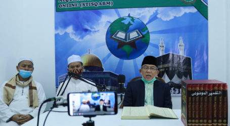 Imaam Yakhsyallah Resmikan Studio STISQABM