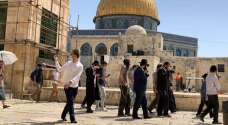Hari Raya Paskah Yahudi: 313 Pemukim Yahudi Serbu Pelataran Masjid Aqsa