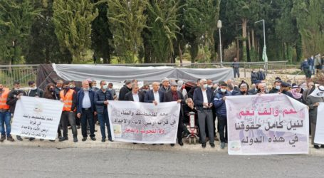 Warga Palestina di Israel Protes Pembongkaran Rumah Mereka di Naqab
