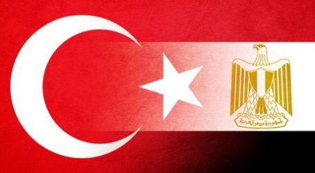 Turki-Mesir Lakukan Kontak Diplomatik Pertama Setelah Putus Sejak 2013