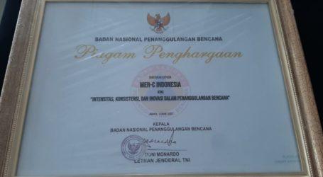 MER-C Terima Penghargaan dari BNPB