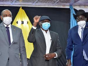 Pemerintah Sudan dan Pemberontak Damai