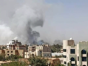 Koalisi Saudi Serang Ibu Kota Yaman Balas Serangan Drone