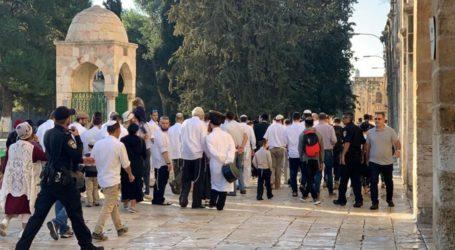 Lebih 200 Pemukim Yahudi Serbu Masjid Al-Aqsa