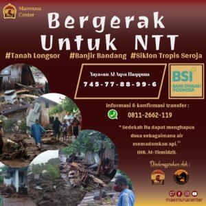 Mae_C & UAR Buka Donasi Bantu Korban Banjir NTT