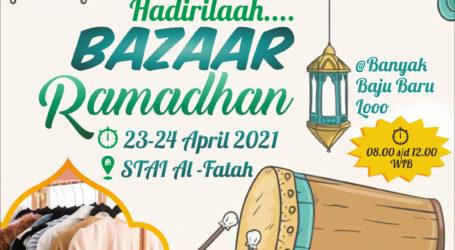 Fatayat Jama'ah Muslimin Gelar Bazar Ramadhan