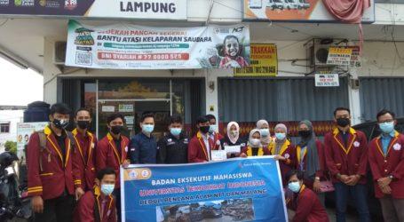 BEM Universitas Teknokrat Indonesia Salurkan Bantuan untuk NTT dan Malang