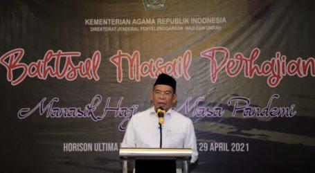 Kemenag Gelar Bahtsul Masail Bahas Haji di Masa Pendemi