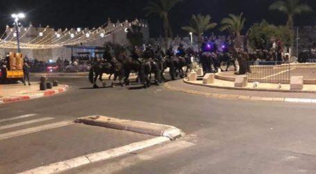 Pasukan Israel Serang Jamaah Tarawih di Gerbang Damaskus Al-Quds