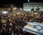 Protes Anti-Netanyahu Kembali Digelar Tolak Pemimpin Lama