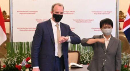 Menlu RI: Indonesia, Inggris Serukan Penghentian Kekerasan di Myanmar