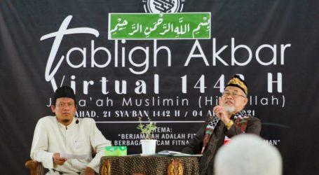 Jama'ah Muslimin (Hizbullah) Gelar Tabligh Akbar Virtual Serentak di Berbagai Wilayah di Indonesia