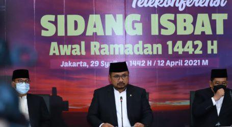 Pemerintah RI Tetapkan Awal Ramadhan 13 April