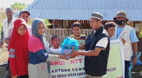 AWG Salurkan Bantuan Korban Banjir NTT