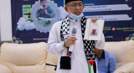 """Bedah Buku """"Konspirasi Memadamkan Cahaya Allah"""" di Al-Muhajirun"""