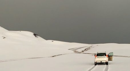 Hujan Deras dan Salju Landa Arab Saudi