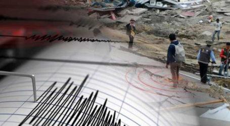 Indonesia Digetarkan Tiga Kali Gempa