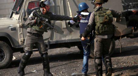 Jurnalis di Palestina Diserang Pasukan Israel Saat Meliput