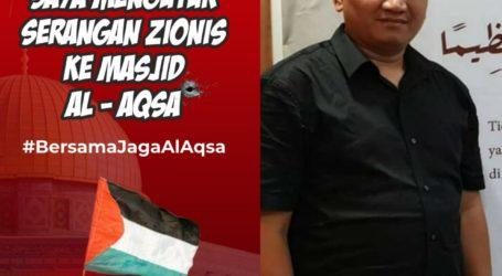 Al-Quds Amaanati IndonesiaI Kutuk Serangan Israel