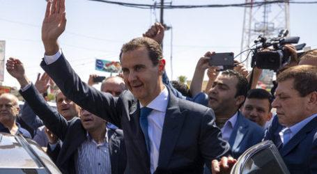 Rusia Sambut Kemenangan Assad dalam Pemilu Suriah