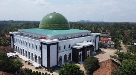 Masjid Terbesar di Lampung Gelar Shalat Gerhana Bulan